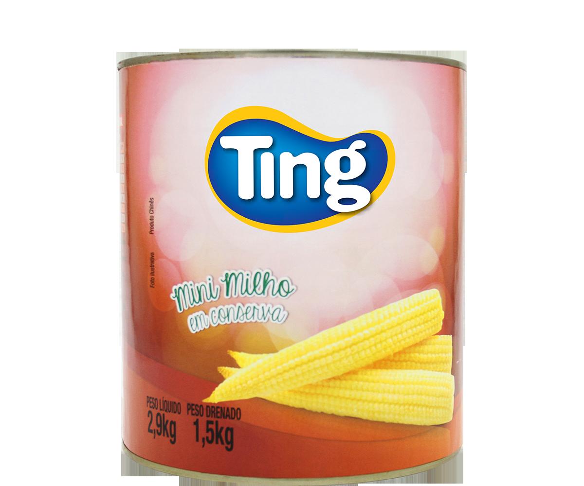 Mini Milho 1,5kg lata